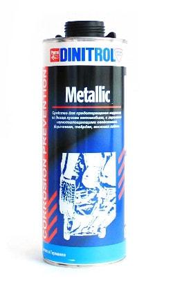 Купить Dinitrol Metallic (1 литр, евробанка) Антикор для днища