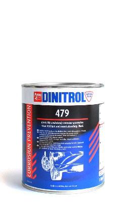 Купить Dinitrol 479 (1 литр, банка) Шумоизоляция и антикор для арок и днища
