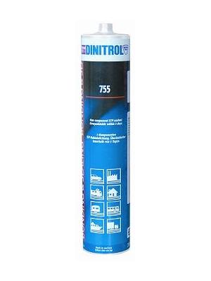 Купить Dinitrol 755 (310 мл. картридж, черный) STP Герметик - клей силан-модифицированный