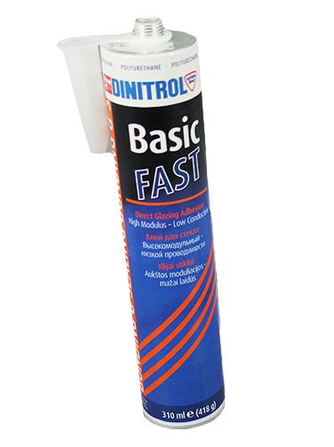 Купить Dinitrol Basic FAST (310 мл, картридж) Клей-герметик для вклейки лобового стекла