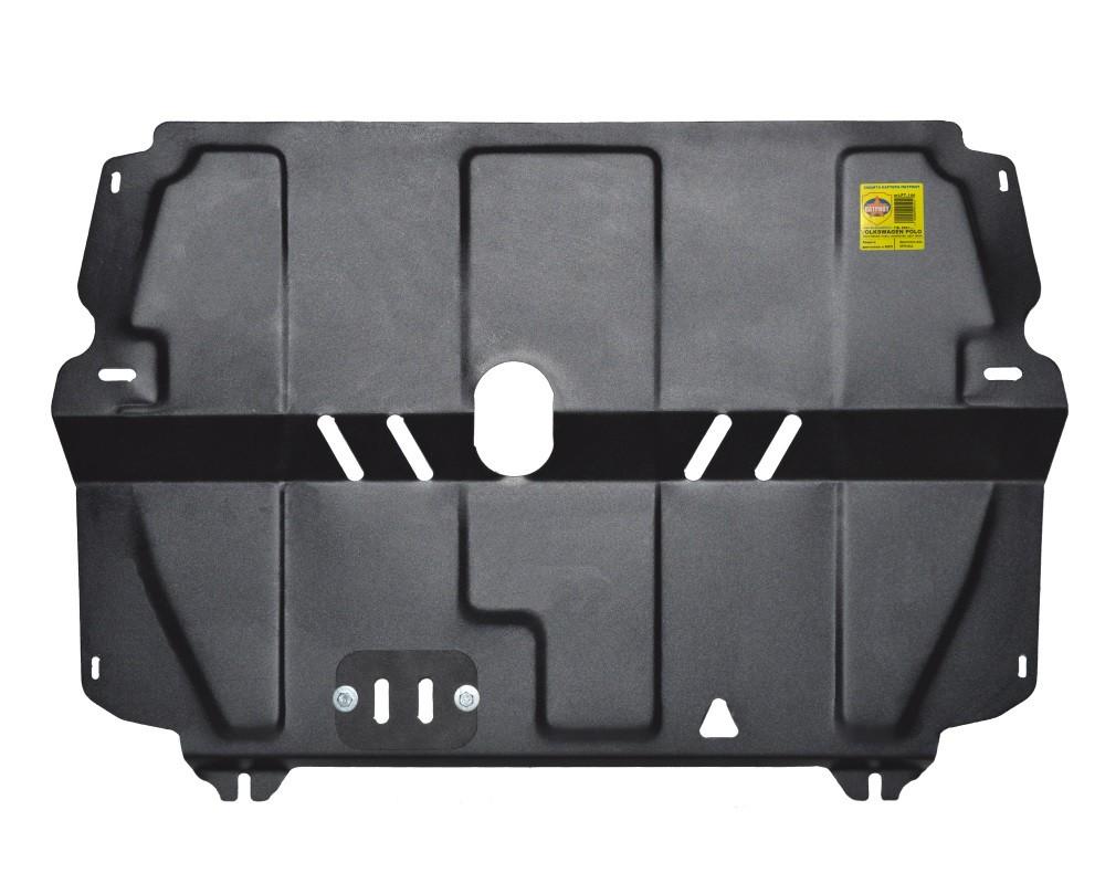 Купить VOLKSWAGEN POLO (2001-..., кроме V=1,6 110лс АКП) - Защита картера двигателя и КПП