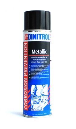 Купить Dinitrol Metallic (500 ml, аэрозоль) Антикор для днища