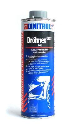 Купить Dinitrol 440 (1 литр, евробанка) Антигравий серый окрашиваемый