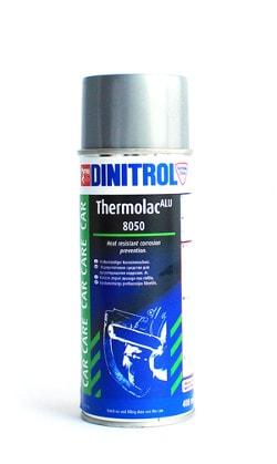 Купить Dinitrol 8050 (400 мл) для глушителей, Алюминиевая краска
