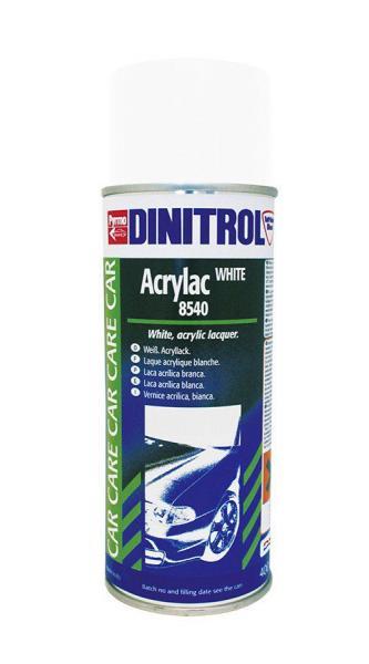 Купить Dinitrol 8540 (0.4 л. аэрозоль) Акриловая краска для авто белая
