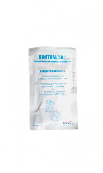 Купить Dinitrol S 582 (влажная салфетка) Растворитель очиститель