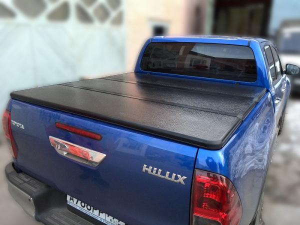 Купить Жесткая трехсекционная крышка кузова для Toyota Hilux