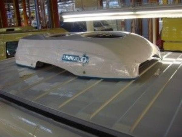Купить Автокондиционеры Элинж для а/м Fiat Ducato с крышным расположением конденсора 11 кВт