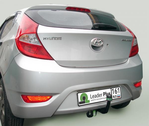 Купить Фаркоп для автомобиля HYUNDAI SOLARIS / KIA RIO (седан, хетчбек) (2010-2017) H219-A