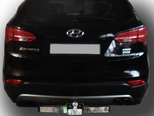 Купить Фаркоп для автомобиля HYUNDAI SANTA FE (DM) 2012-.../ KIA SORENTO 4 (XM FL) 2012-...(C НЕРЖ. ПЛАСТИНОЙ) H224-F(N)