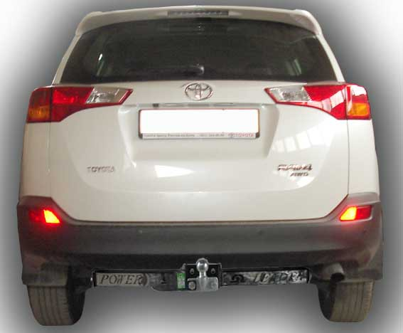 Купить Фаркоп для автомобиля TOYOTA RAV 4 2013-... (C НЕРЖ. ПЛАСТИНОЙ) T116-F(N)