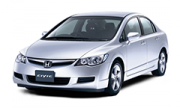 Авточехлы для сидений Honda Civic 8 с 2006-2011г. хэтчбек