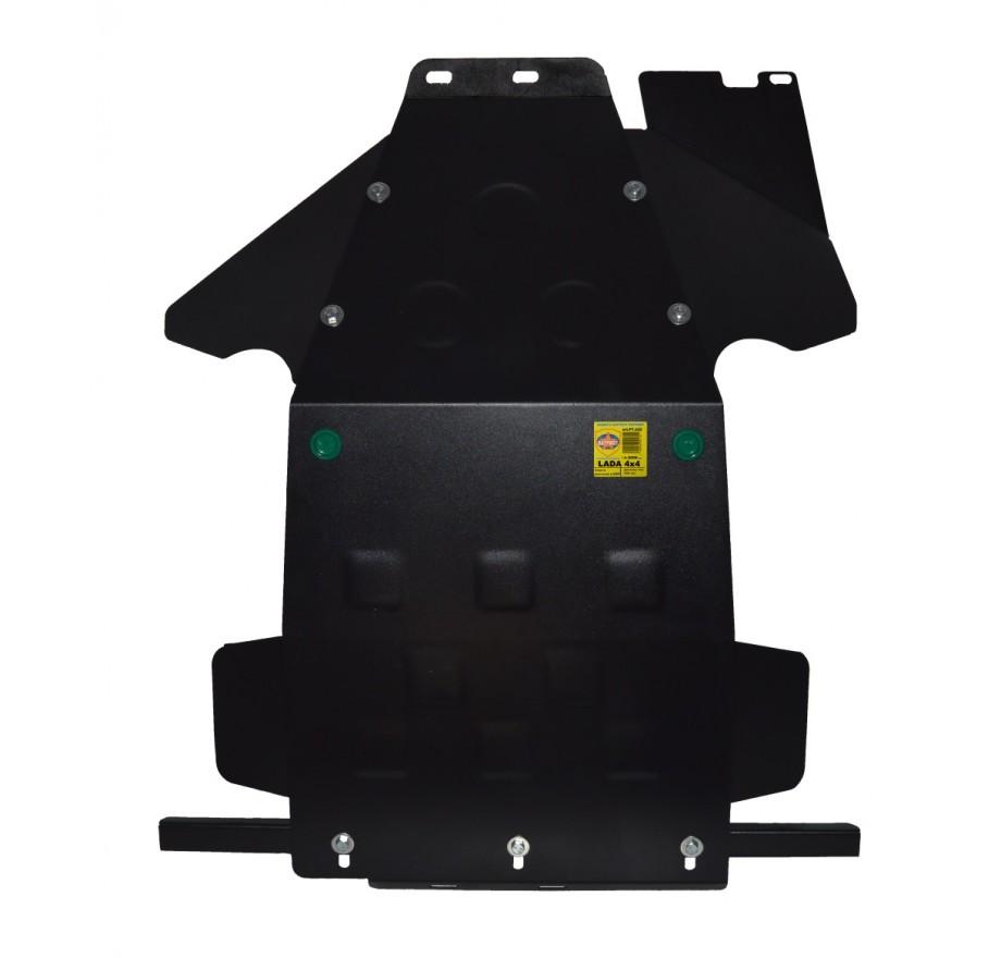 Купить LADA 4x4 (2000-..., МКП, ВАЗ 21214-2131 НИВА) - Защита картера двигателя и КПП