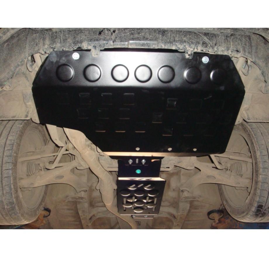 Купить SUBARU FORESTER SH (2008-2013, 2мм) - Защита двигателя
