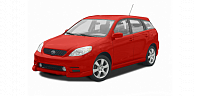 Авточехлы для сидений Toyota Matrix 1 с 2001-2009г. хэтчбек