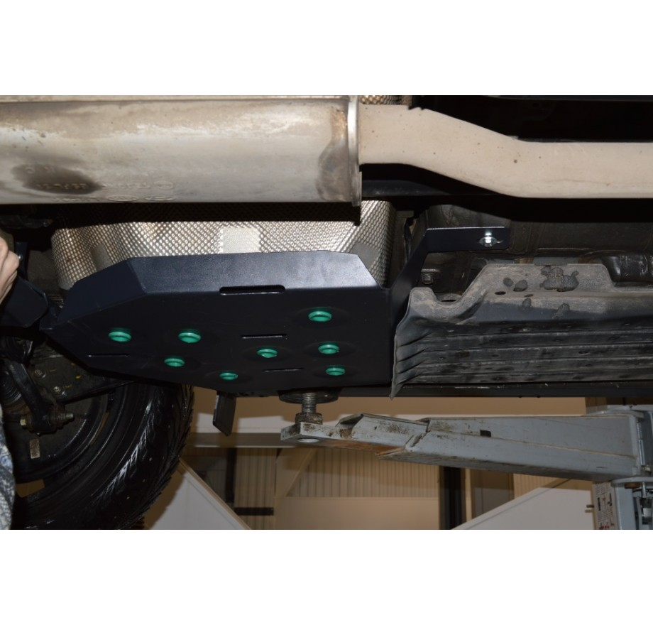 Купить KIA SPORTAGE IV (сталь, 2016-...) - Защита топливного бака